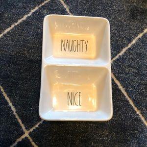Rae Dunn Naughty/Nice Item
